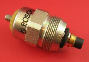 Bosch Fuel Shutoff Solenoid 24 Volt (Fits VE Injection Pump) Many Applications