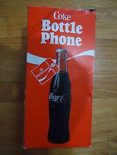Vintage Coca-Cola Bottle Phone 1983 Coke Telephone Collectible