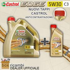 5 LITRI OLIO MOTORE CASTROL EDGE FST LL 5W-30 PACCO 5 LT AUDI VW MERCEDES MINI