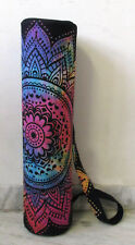 Indian Yoga Bag Mandala Tie Dye Cotton Gym Mat Carrier Bags