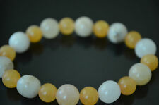 Himalaya Gold Azeztulite Crystal Healing Protection Stretch Bracelet