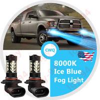 2X High Power 8000K ICE Blue 80W LED Fog//Driving Light For GMC Sierra 2007-2015