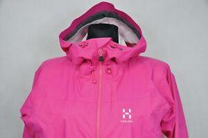 Haglofs Eclipse Proof Women's Pink Jacket size L