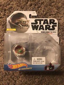 2021 Hot Wheels STAR WARS Starships Mandalorian The Child (Baby Yoda) Hover Pram