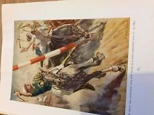 69-2 1961 ephemera book plate stuart tresilian polo players