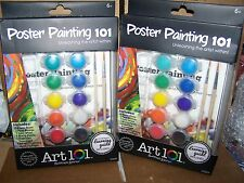 LOT OF  2 - ART 101  POSTER  Painting 101 SETS
