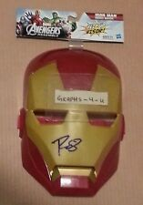 Robert Downey Jr Signed Iron Man Autograph COA Proof a