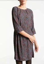 KIN by JOHN LEWIS Pillar Print Shift Dress, Size 12 (10-12) Pockets! BNWOT