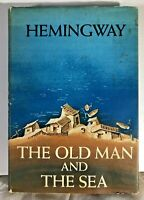 """Ernest Hemingway The Old Man And The Sea 1st Edition 1st Printing Seal """"A"""" 1952"""