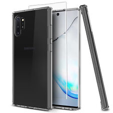 For Samsung Galaxy Note 10+/S10 Plus Clear Case / HD Full Cover Screen Protector