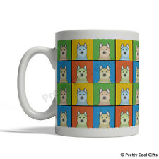 Norwegian Buhund Dog Mug - Cartoon Pop-Art Coffee Tea Cup 11oz Ceramic