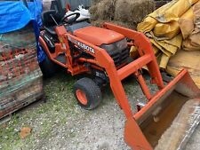 Kubota Bx2200 4 Wheel Drive Diesel Tractor With Front End Loader Hydrostatic