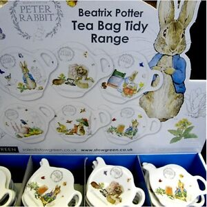 Beatrix Potter Peter Rabbit Tea Bag Tidy