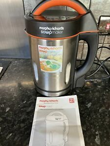 Morphy Richards 48822 1.6L Soup Maker Unused
