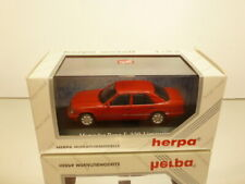 HERPA METALL 70089 MERCEDES BENZ E320 - RED 1:43 - EXCELLENT CONDITION IN BOX