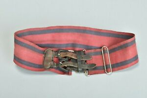 Rhodesian Army 1970s' Corps of Engineers Uniform Stable Belt. Ref CPB