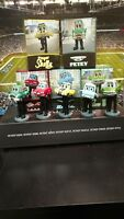 Detroit Tigers Racing Car Mascot Bobbleheads~ MLB~Chevy~NIB~Complete set of 5