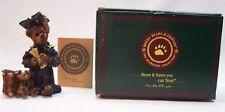 "Boyds Bearstone Collection Edmund The Graduate Carpe Diem 4"" Figurine New In Box"