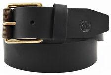 NWT TIMBERLAND Black Stylish! Genuine Leather Men's Belt Size 32 Gift! Deal