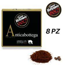 4 Kg Caffè VERGNANO Macinato Antica Bottega - 8 Confezioni Bipack Da 500 Gr