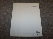 2001 Acura 3.2 CL Coupe Workshop Shop Service Body Repair Manual Type-S 3.2L