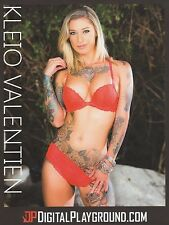 KLEIO VALENTIEN Rare 2017 8.5x11 Digital Playground photo! AVN