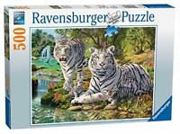 Ravensburger Jigsaw Puzzle WHITE TIGER FAMILY - 500 Piece