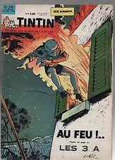 TINTIN n°718 - 26 juillet 1962 - Complet très bel état