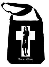Rozz Williams on Black Sling Bag Gothic Deathrock Christian Death 1334 Shadow