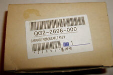 QG2-2698-000 Carriage Ribbon Cable Assembly Genuine Canon bjc-4200 -4300 -4400