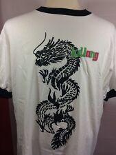 Vintage T-Shirt K.D. Lang Kd Lang 1996 Xl Rare Ringer Style Dragon Pop Rock
