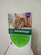 ADVANTAGE 80 anti puces chat/Cat + de 4 kg Fleas Treatment bte 4 pipettes