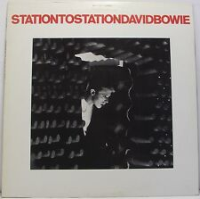 """David BOWIE: Stazione a Stazione VINILE LP ALBUM 33rpm 12"""" ITALIANO ottime"""