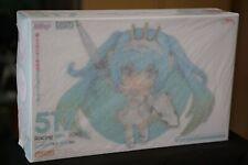NEW - Good Smile Racing Miku 2015 ver. Nendoroid 517 w/ rare Rubber Keychain