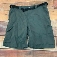 Columbia Mens Shorts Size 36 With Belt Belted A127