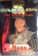 Babylon 5 Component Boxed Game- Narn Ragime Starter-Sealed- Free S&H