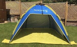 The UV Sun Protector By Shelta Shade Pop-up Summer Tent Beach Picnic Shelter
