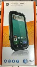 MOTOROLA BRAVO - BRAND NEW. Black (AT&T) Smartphone. NEVER USED. ANDROID OS. GSM