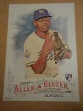 2016 Topps Allen & Ginter 5x7 2/49 #12 Miguel Almonte Royals RC ROOKIE