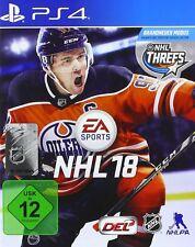 NHL 18 PS4 Playstation 4 NEUF + EMBALLAGE ORIGINAL