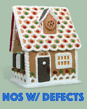 Byers Choice | Chocolate Shudder Chalet *Nwd* Gingerbread House Rare Retired Usa