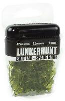Lunkerhunt Spade Grub Bait Jar 1/3 oz. Bluegill, Panfish, & Ice Fishing Bait