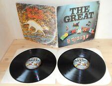2LP SEX PISTOLS The great rock'n'roll swindle (Virgin 79 ITALY) 1st ps punk VG+