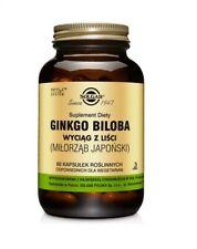 Solgar Ginkgo Biloba Capsules, 60 caps, FREE P&P