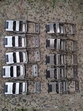 10pc Stainless steel Freighter Trailer Tautliner Curtain strap Side Truck Buckle