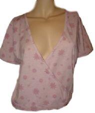 Magliette da donna a manica corta grigia