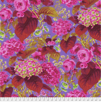 Rose and Hydrangea HOT Philip Jacobs/ Kaffe Fassett cotton Quilting Fabric BTY