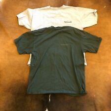 Single Stitch Vintage 90s Timberland T-shirt Lot (2) Mens 2XL Gray-Green