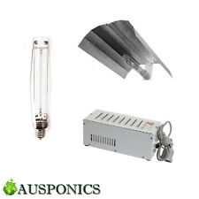 1000W MAGNETIC BALLAST + HPS Lamp + Aluminium Reflector Hydroponics Lighting Kit