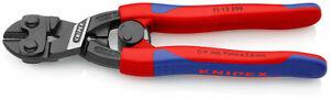 KNIPEX 71 12 200 200mm CHROME VANADIUM STEEL COMPACT BOLT CUTTER